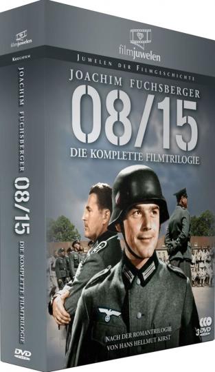 08/15 (Komplette Filmtrilogie). 3 DVDs.