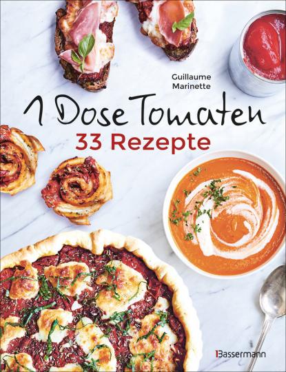 1 Dose Tomaten - 33 Gerichte in denen Dosentomaten bzw. Paradeiser die Hauptrolle spielen. Mit wenigen weiteren Zutaten. Das Kochbuch für eilige Genießer.