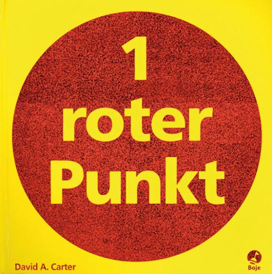 1 roter Punkt. 10 Pop-up-Kunstwerke.