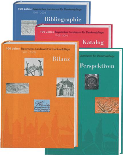 100 Jahre Bayerisches Landesamt für Denkmalpflege. Jubiläumsausgabe in vier Bänden.
