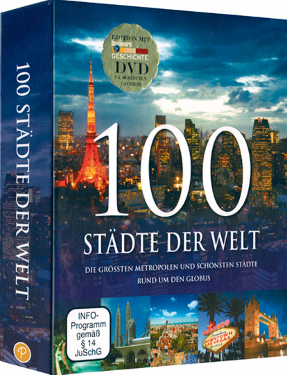 100 Städte der Welt mit DVD