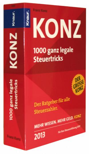 1000 ganz legale Steuertricks 2013