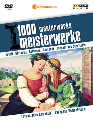 1000 Meisterwerke. Europäische Romantik. DVD.