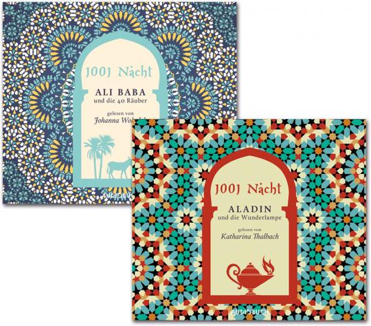 1001 Nacht. Aladin und die Wunderlampe. Ali Baba und die 40 Räuber. 6 CDs.