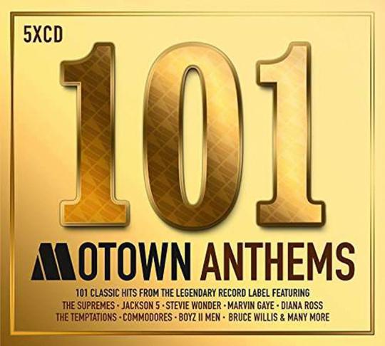 101 Motown Anthems. 5 CDs.