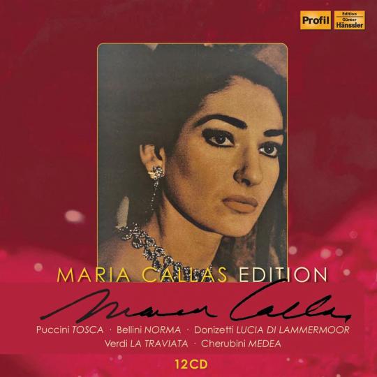 Maria Callas Edition : Primadonna assoluta. 12 CDs