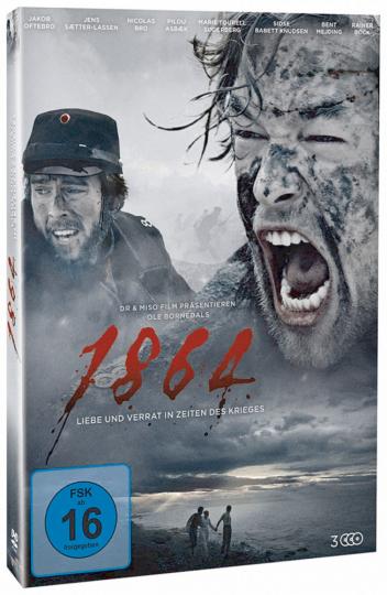 1864 - Liebe und Verrat in Zeiten des Krieges. 3 DVDs