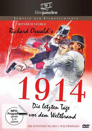 1914. Die letzten Tage vor dem Weltbrand. DVD.