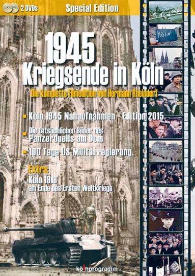 1945 - Kriegsende in Köln 2 DVDs