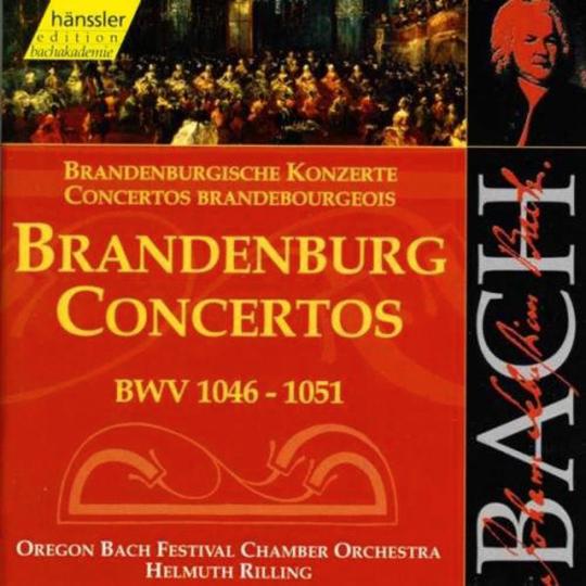 Johann Sebastian Bach: Brandenburgische Konzerte BWV 1046 - 1051. 2 CDs
