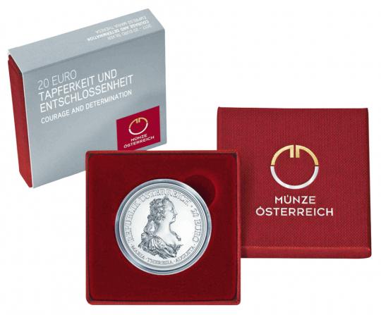 20 Euro-Silbermünze Maria Theresia