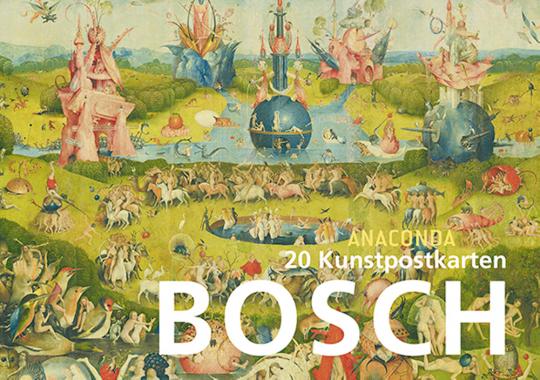 20 Kunstpostkarten Hieronymus Bosch