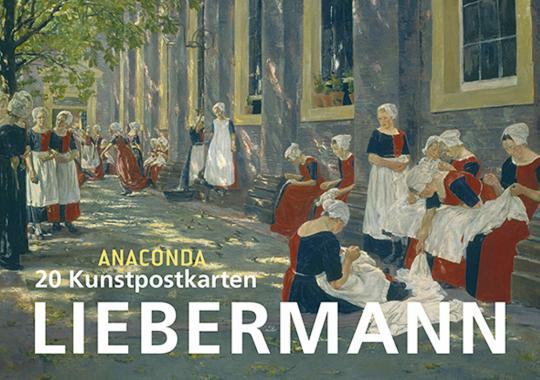 20 Postkartenbuch Max Liebermann