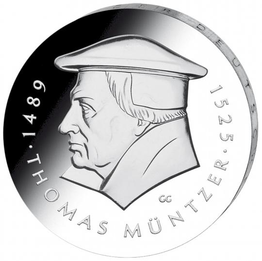 3er-Münzsatz: Zeitgenossen Martin Luthers DDR – BRD