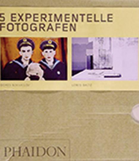 5 experimentelle Fotografen in 5 Büchern.