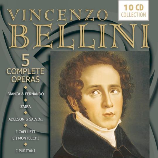 5 komplette Opern 10 CDs