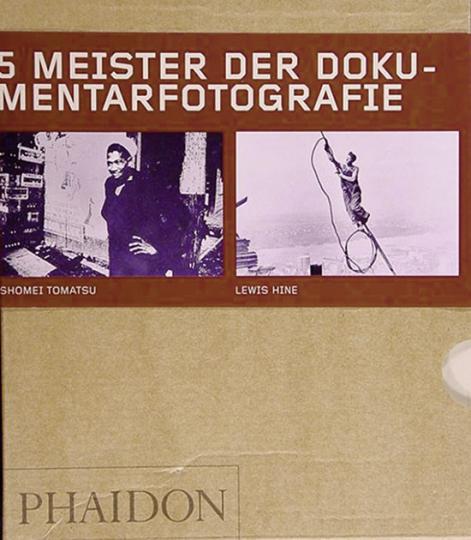 5 Meister der Dokumentarfotografie in 5 Büchern.