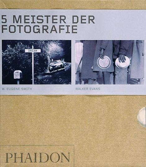 5 Meister der Fotografie in 5 Büchern.