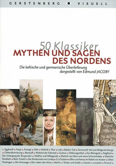 50 Klassiker - Mythen und Sagen des Nordens.
