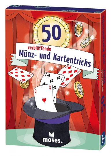 50 verblüffende Münz und Kartentricks.