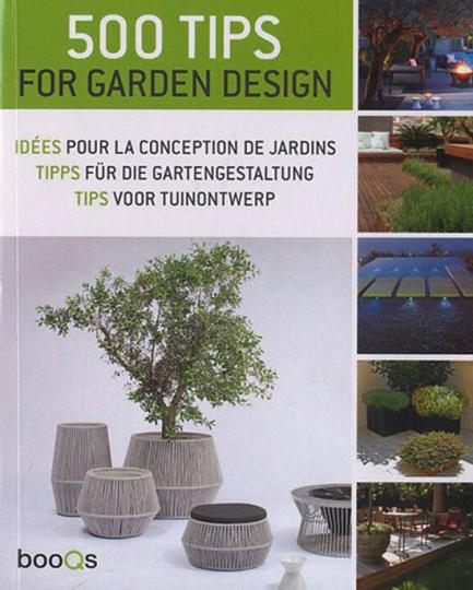 500 Tipps für die Gartengestaltung.