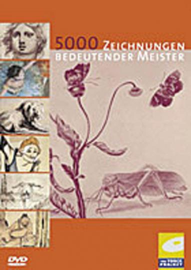 5000 Zeichnungen bedeutender Meister (DVD-ROM)