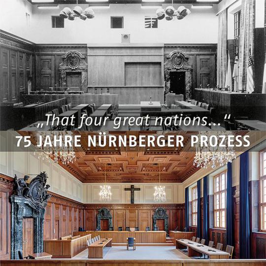 75 Jahre Nürnberger Prozess.