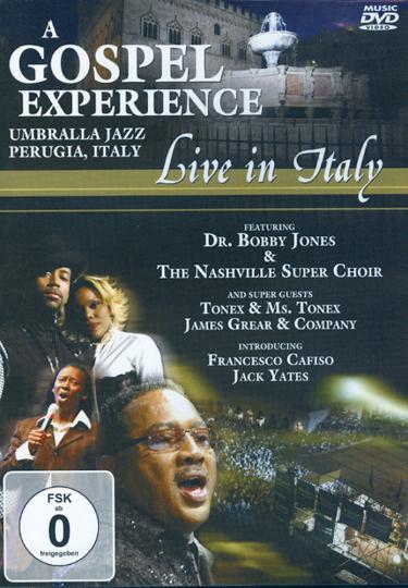 A Gospel Experience - Live in Italy: Dr. Bobby Jones & The Nashville Super Choir DVD