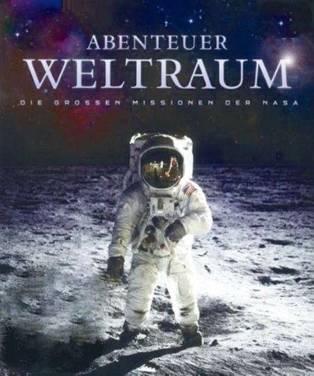 Abenteuer Weltraum 4 DVDs