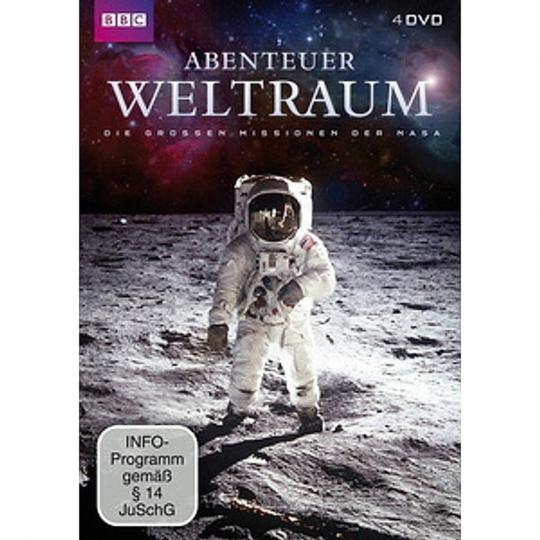 Abenteuer Weltraum. 4 DVDs.