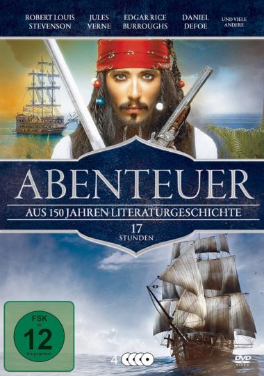 Abenteuerfilme - Die Klassiker der Weltliteratur 4 DVDs