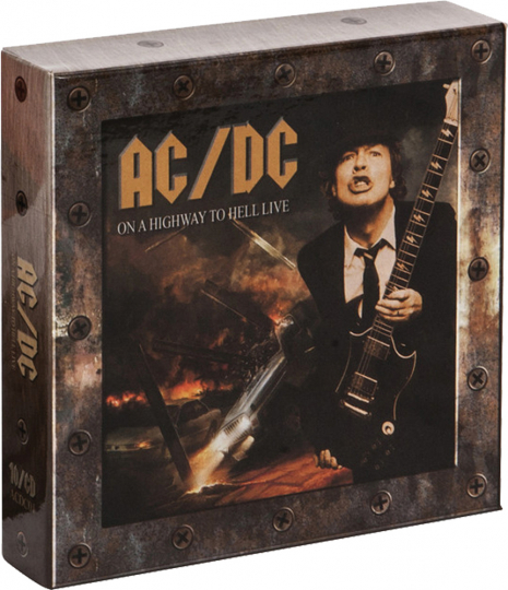 AC/DC. On a Highway to Hell. 10 CDs.