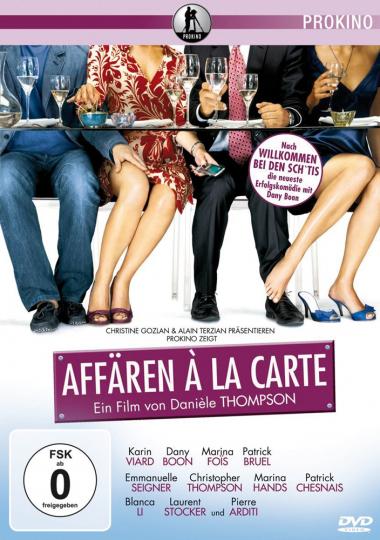 Affären à la Carte. DVD.