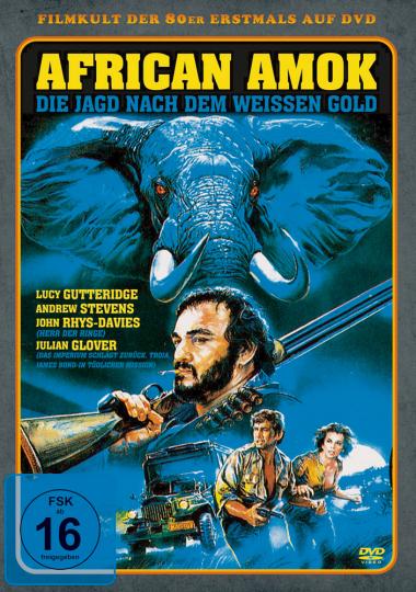 African Amok - Die Jagd nach dem weißen Gold. DVD.