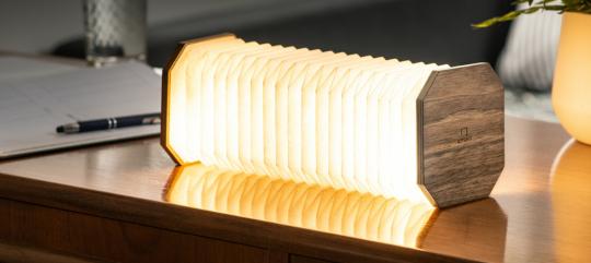 Akkordeon-Lampe.