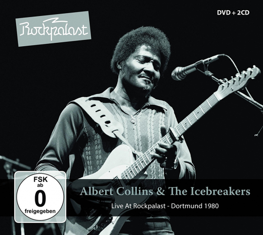 Albert Collins. Live At Rockpalast - Dortmund 1980. 2 CDs & 1 DVD.