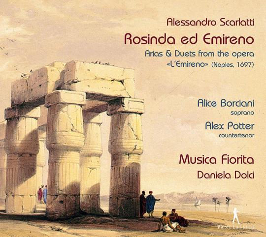 Alessandro Scarlatti. Rosinda ed Emireno - Arien und Duette aus der Oper »L'Emireno« (Neapel 1697). CD.