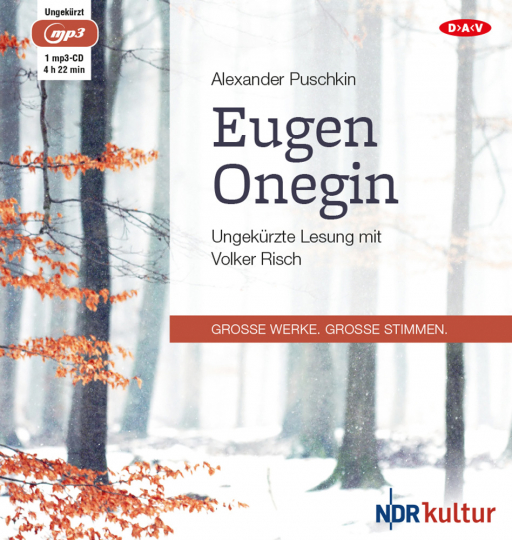 Alexander Puschkin. Eugen Onegin. mp3-CD.