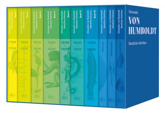 Alexander von Humboldt. Sämtliche Schriften. Studienausgabe.