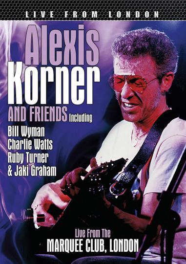 Alexis Korner. Live from London. DVD.