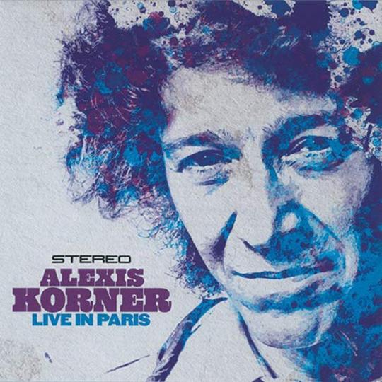 Alexis Korner. Live In Paris. CD.