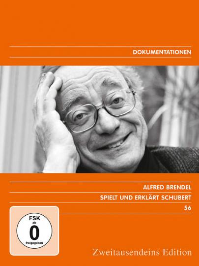 Alfred Brendel spielt und erklärt Schubert. 5 DVDs.