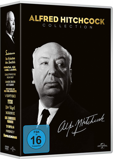 Alfred Hitchcock Collection. 14 DVD Box