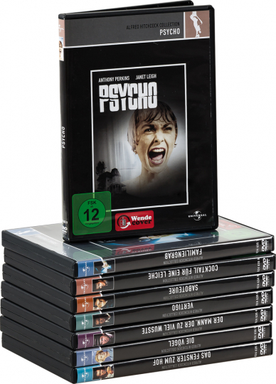 Alfred Hitchcock Collection. 8 DVDs.