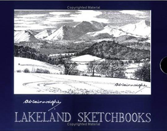 Alfred Wainwright. Lakeland Sketchbooks.