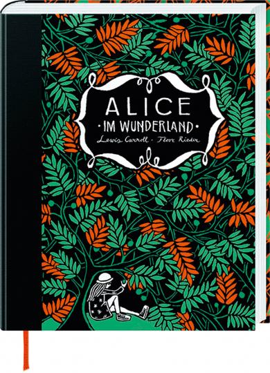 Alice im Wunderland & Alice hinter den Spiegeln. Wendebuch.