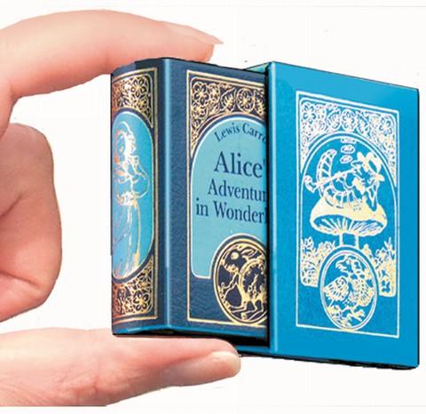 Alice's Adventures in Wonderland - Leder-Mini-Ausgabe