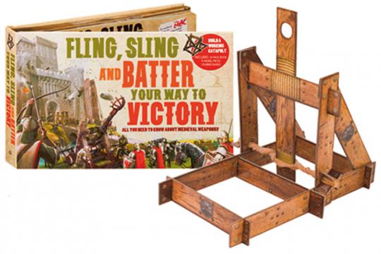 Alles, was Du über mittelalterliche Waffen wissen musst. Mit Modellen zum selbstbauen.