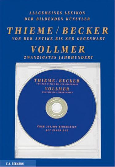 Allgemeines Lexikon der bildenden Kunst von der Antike bis zur Gegenwart. CD-ROM.