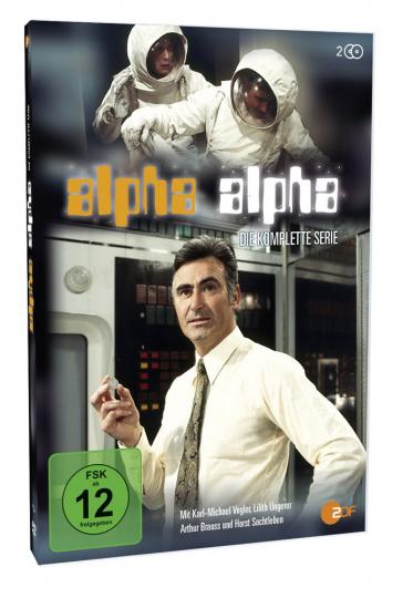 Alpha Alpha (Komplette Serie). 2 DVDs.